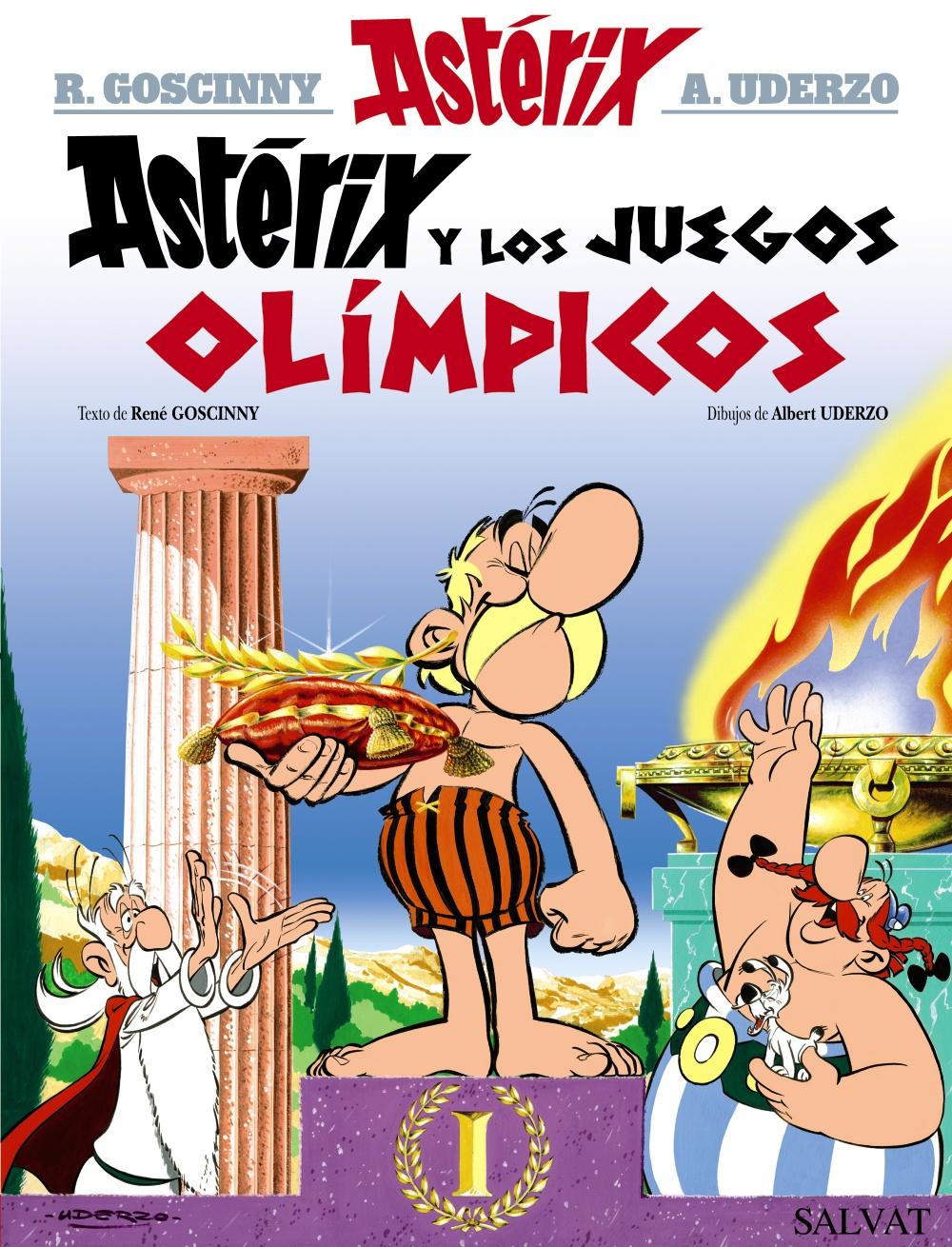 Astérix y los juegos olímpicos (Tapa dura)