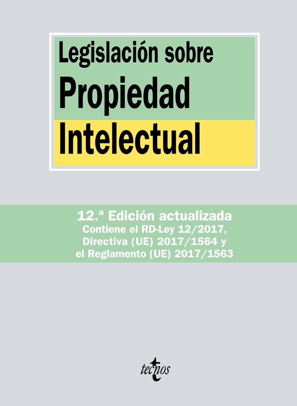 Legislación sobre Propiedad Intelectual