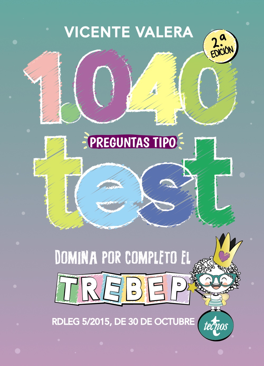 1040 preguntas tipo test TREBEP