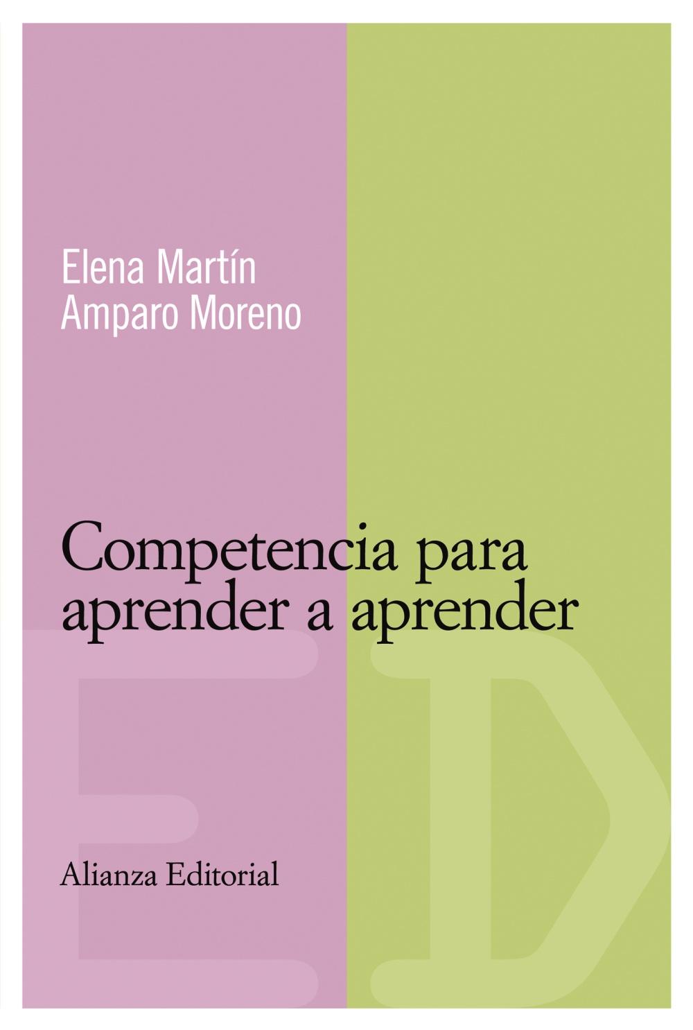 Competencia para aprender a aprender (ebook)