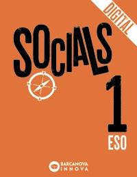 Portada: Socials 1 ESO (digital) Autor: Burgos, Manuel; Muñoz-Delgado, Mª Concepción; Llacay, Toni