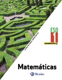 Portada: Generación B Matemáticas 1 ESO digital alumno Autor: Arias Cabezas, José María; Maza Saez, Ildefonso