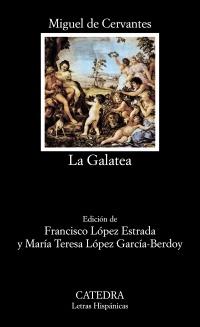 Cubierta de la obra La Galatea