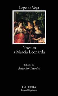Cubierta de la obra Novelas a Marcia Leonarda
