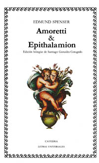 Cubierta de la obra Amoretti & Epithalamion