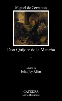 Cubierta de la obra Don Quijote de la Mancha, I