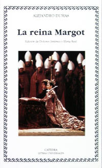 Cubierta de la obra La reina Margot