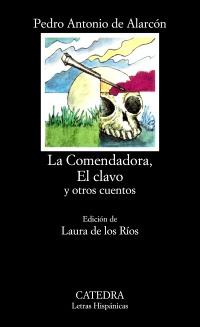 Cubierta de la obra La Comendadora, El clavo y otros cuentos