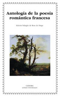 Cubierta de la obra Antología de la poesía romántica francesa