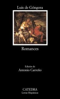 Cubierta de la obra Romances