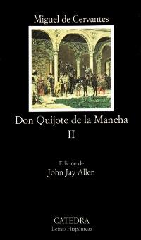 Cubierta de la obra Don Quijote de la Mancha, II