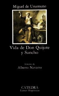 Cubierta de la obra Vida de Don Quijote y Sancho