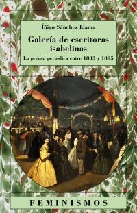 Cubierta de la obra Galería de escritoras isabelinas