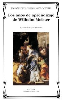 Cubierta de la obra Los años de aprendizaje de Wilhelm Meister