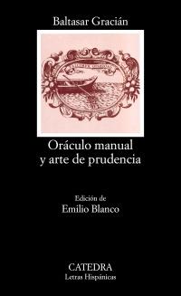 Cubierta de la obra Oráculo manual y arte de prudencia