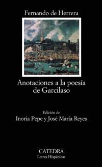 Cubierta de la obra Anotaciones a la poesía de Garcilaso
