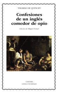 Cubierta de la obra Confesiones de un inglés comedor de opio