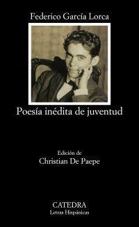 Cubierta de la obra Poesía inédita de juventud