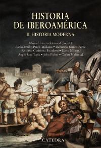 Cubierta de la obra Historia de Iberoamérica, II