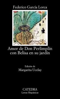 Cubierta de la obra Amor de don Perlimplín con Belisa en su jardín