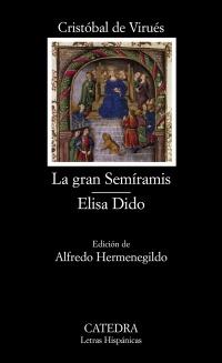 Cubierta de la obra La gran Semíramis; Elisa Dido
