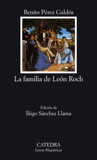 Cubierta de la obra La familia de León Roch