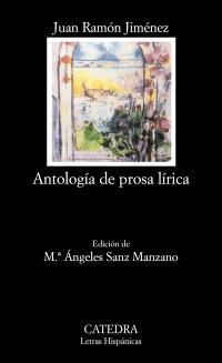 Cubierta de la obra Antología de prosa lírica