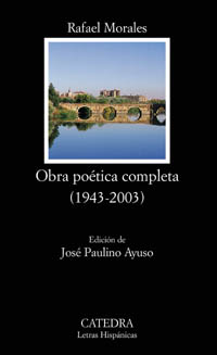 Cubierta de la obra Obra poética completa (1943-2003)