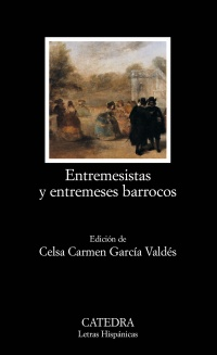 Cubierta de la obra Entremesistas y entremeses barrocos