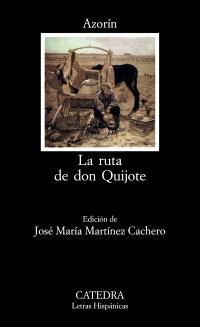 Cubierta de la obra La ruta de don Quijote