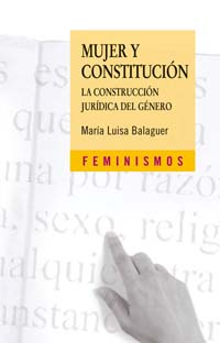 Cubierta de la obra Mujer y Constitución