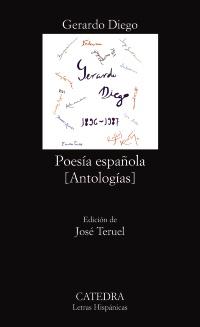Cubierta de la obra Poesía española
