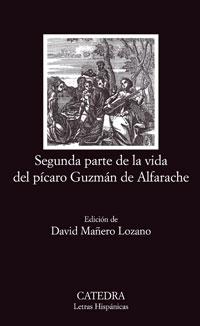 Cubierta de la obra Segunda parte de la vida del pícaro Guzmán de Alfarache