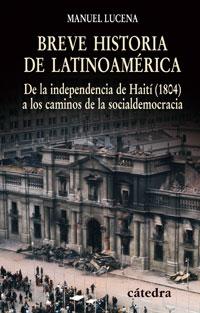 Cubierta de la obra Breve historia de Latinoamérica