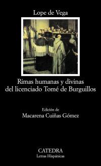 Cubierta de la obra Rimas humanas y divinas del Licenciado Tomé de Burguillos