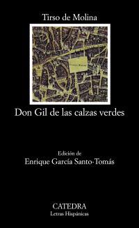 Cubierta de la obra Don Gil de las calzas verdes