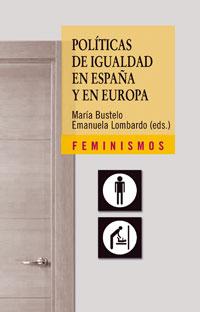 Cubierta de la obra Políticas de igualdad en España y en Europa