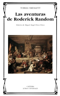 Cubierta de la obra Las aventuras de Roderick Random