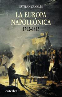 Cubierta de la obra La Europa napoleónica