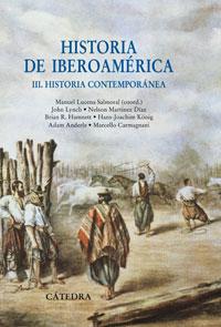 Cubierta de la obra Historia de Iberoamérica, III