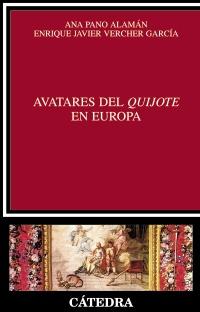 Cubierta de la obra Avatares del Quijote en Europa