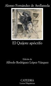 Cubierta de la obra El Quijote apócrifo
