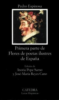 Cubierta de la obra Primera parte de Flores de poetas ilustres de España