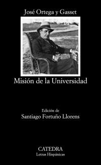 Cubierta de la obra Misión de la Universidad