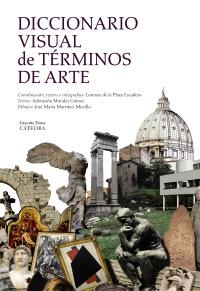 Cubierta de la obra Diccionario visual de términos de arte
