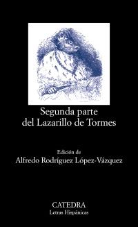 Cubierta de la obra Segunda parte del Lazarillo de Tormes