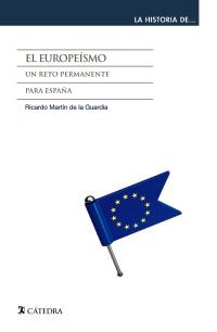 Cubierta de la obra El europeísmo