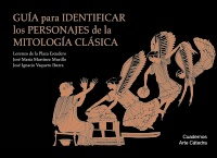 Cubierta de la obra Guía para identificar los personajes de la mitología clásica