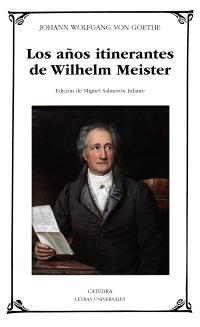Cubierta de la obra Los años itinerantes de Wilhelm Meister