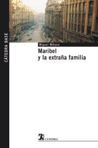Cubierta de la obra Maribel y la extraña familia